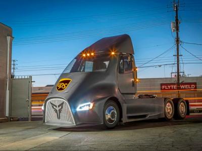 A Tesla Semi konkurenciája, a Thor ET-One a UPS-nél fog dolgozni