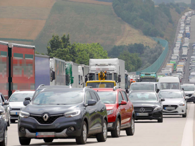 TransINTANT: Traffic restrictions on German motorway | DKV develops a network in Poland
