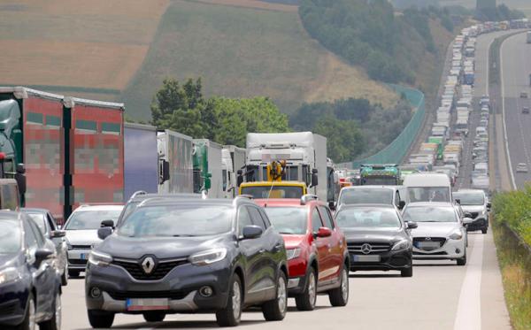 TransINTANT: Traffic restrictions on German motorway | DKV develops a network in Poland