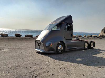Thor ET-One wird für UPS fahren