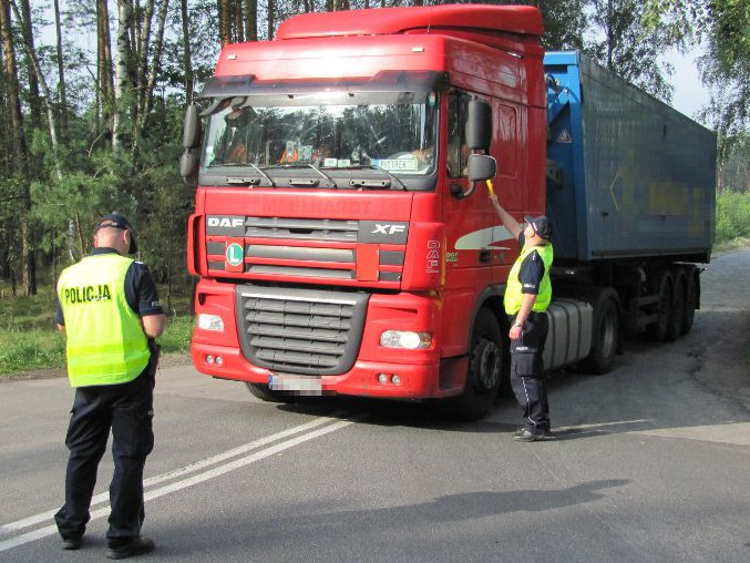 Ruszyła kolejna akcja TISPOL-u. Ciężarówki na celowniku policji w całej Unii