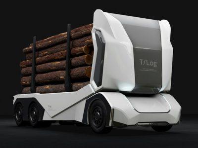 Autonom und elektrisch – hier kommt T-Log