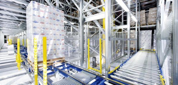 Logistics 4.0 in practice. Orbiter replaced human workers in refrigerated warehouse