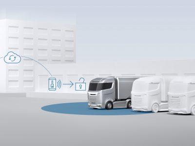Erstes schlüsselloses Zugangssystem für Trucks