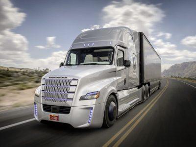 Autonominiai sunkvežimiai transporto ateitimi?