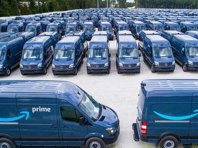 Amazon își creează flotă proprie. Câștigurile pentru colaboratori pot fi substanțiale.