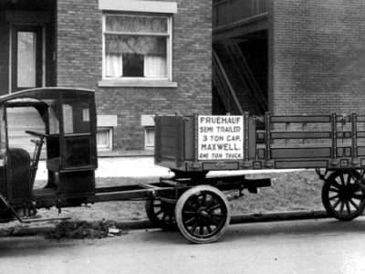 History of Transport – part 28. How truck semi-trailers were born overseas