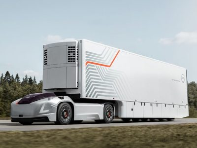 Autonomiczny pojazd bez kabiny rozpocznie pracę w porcie w Göteborgu