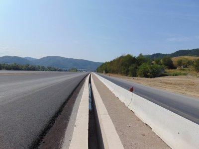 În sfârșit putem vedea un mic progres la nodul Sebeș, parte din lotul 1 al Autostrăzii A10 Sebeș-Turda.