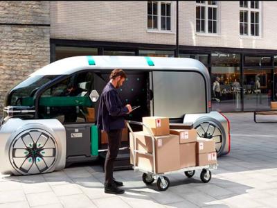 EZ-PRO. Renault prezentuje przyszłość branży kurierskiej na targach w Hanowerze
