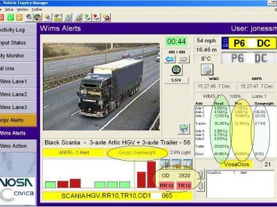 Британские системы улавливают перегруженные грузовики. Посмотрите, как они работают