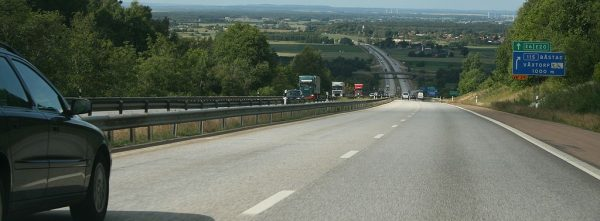 Traffic restrictions in the south of Sweden. Highway will be closed for two weeks