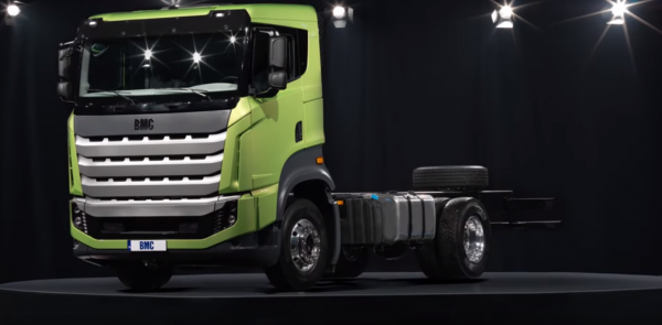 New Turkish truck attracted a lot of attention. Tugra was first presented in Hannover