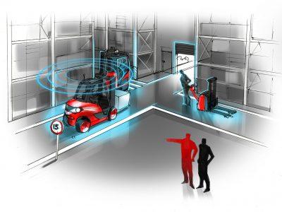 Linde Material Handling stellt neue Funktionen für das Flottenmanagementsystem connect vor