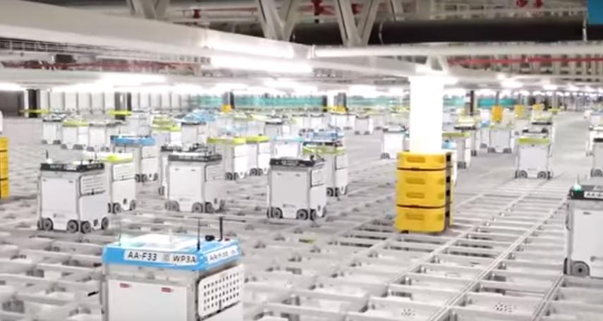 Roboți 4G pentru ambalarea produselor alimentare