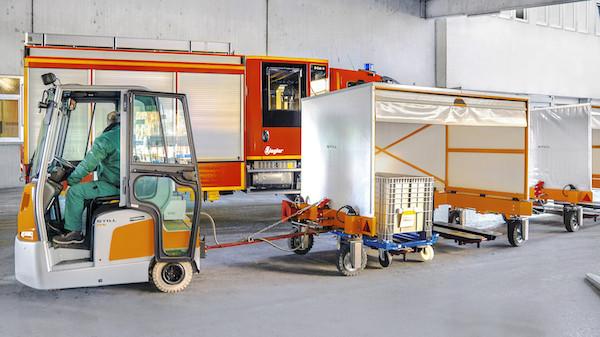 wózek Still w fabryce Ziegler
