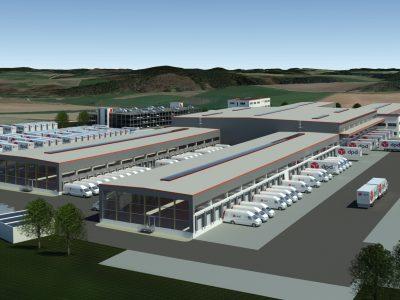 DPD investiert 45 Millionen für neues Paketsortierzentrum in Augsburg