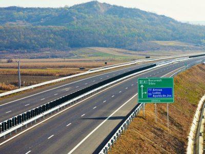 Circulația pe o porțiune a A1 se va închide din 10 octombrie