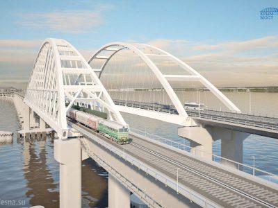 Sunkvežimiai jau gali važiuoti tiltu į Krymą