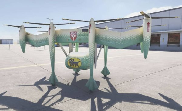 Drone-truck with a load capacity of up to half tonne? The Japanese and Americans are already working