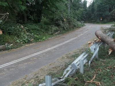 Riasztás Szlovéniában – viharos időben nem feltétlen jelölnek ki kerülőutat
