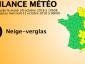 Niespodziewany atak zimy we Francji. W kilku departamentach spadło 40 cm śniegu