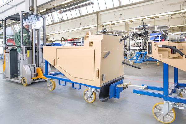 Sprzęt firmy Still w fabryce Ziegler