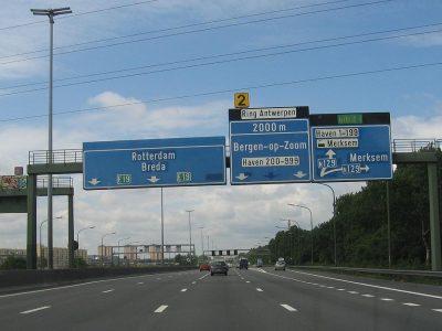 Tarifas de peaje más altas y nuevas secciones de autopistas de peaje en Bélgica