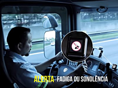 Driver under camera surveillance. New systems can control and influence the behavior of truckers