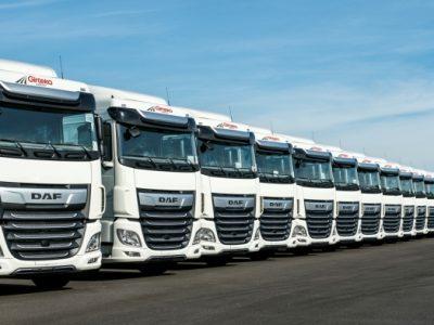 """Girteka își mărește flota cu 1500 de camioane de la DAF: """"Noile camioane vor contribui în mod semnificativ la realizarea planului nostru de extindere în Europa"""""""