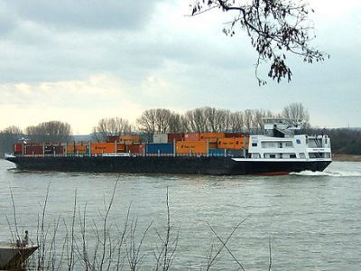 Record low Rhine level hits the transport industry