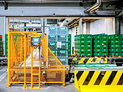 Logistics 4.0 in practice. Automated pallet handling system has reduced the number of forklifts