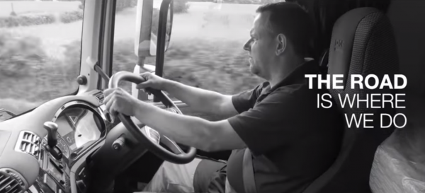 Truck manufacturer shows gratitude to all drivers in a moving video about transport industry