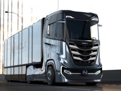 Hydrogen-electric Nikola will travel 1200 km. It will be produced in Europe
