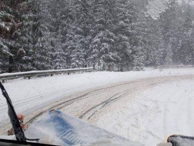 Alertă trafic: Cod galben de ninsori viscolite în 17 județe din România