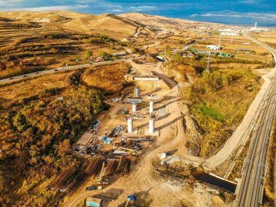 Situația lucrărilor pe lotul 1 al Autostrăzii Sebeș-Turda