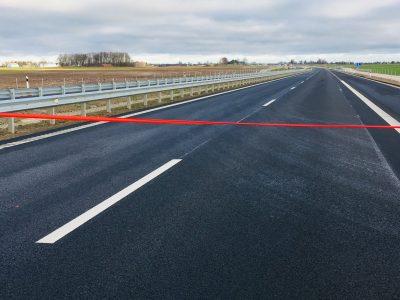 """Atidaryta """"Via Baltica"""" automagistralė tarp Kauno ir Marijampolės. Atlikti darbai sumažins avaringumą net 70 proc."""
