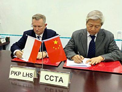 PKP LHS uruchomi połączenie z Chinami. W drodze powrotnej pociągi ominą Rosję