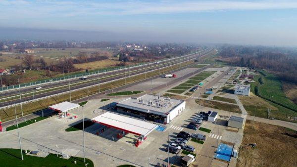 Kierowcy odetchnęli z ulgą. Pierwsza stacja paliw przy A4 na Podkarpaciu otwarta