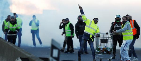 """Mañana es el """"gran día"""" de las protestas en Francia. ¿Los cientos de transportistas españoles, presu"""