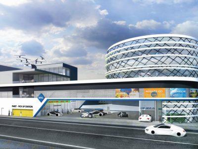 """Studie """"Tankstelle der Zukunft in der Großstadt"""":Fahrleistung von LKW wird steigen"""