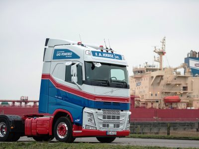 Volvo Trucks liefert ersten FH mit LNG in Deutschland aus