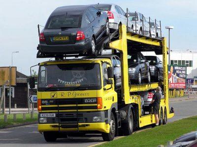 Vežėjo atsakomybė krovinius gabenant atvira (be tento) transporto priemone (autovežiu)