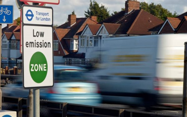 European hauliers facing thousands of pounds in London low emission zone penalties