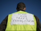 """Fourth day of the """"yellow vests"""" protest. Many roads are still blocked"""