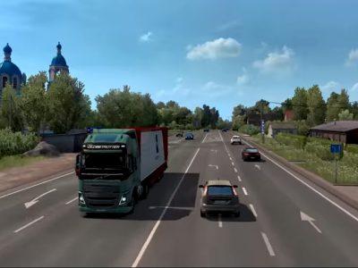 Lietuva populiariame sunkvežimių žaidime. Žaidimas daro įspūdį
