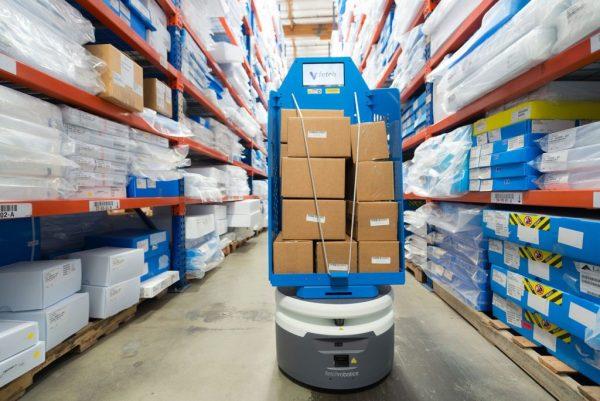 Po kelerių metų Lietuvos sandėliuose ir gamyklose dirbs krautuvai-robotai