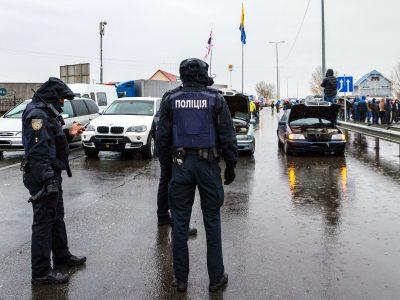 Kłopoty na przejściach drogowych z Ukrainą