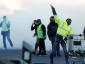 """""""Geltonųjų liemenių"""" protestas Prancūzijoje vis dar tęsiasi. Patikrinkite, kurie keliai yra užblokuoti"""