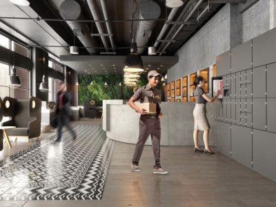 Powstały nietypowe automaty paczkowe. Dla pracowników biur, korporacji i mieszkańców zamkniętych osiedli